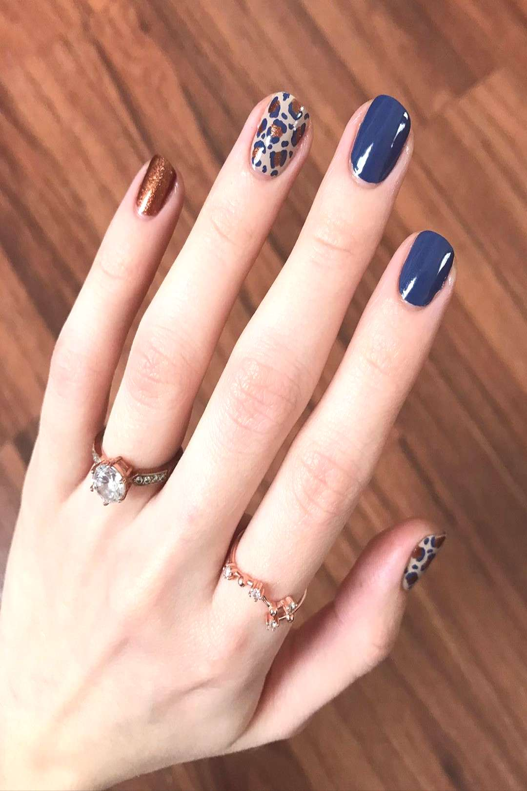 [ gifted ] - Lets get LOUD with another leopard print mani using