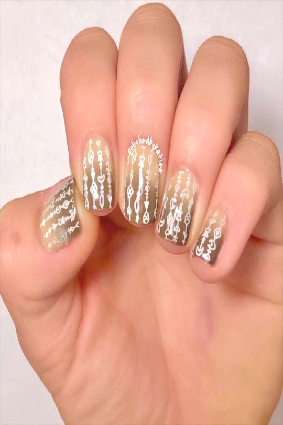 ★ how I did the ombre stamping nails