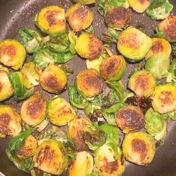 * i refused to eat brussel sprouts growing up but this past year
