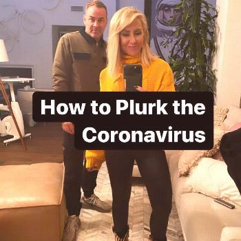 2 people, possible text that says 'How to Plur