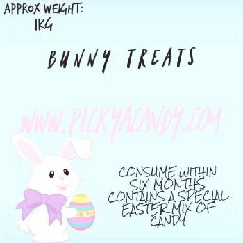 A SNEAK peek at a few of the candy's In our Bunny Treats bag!! Ea