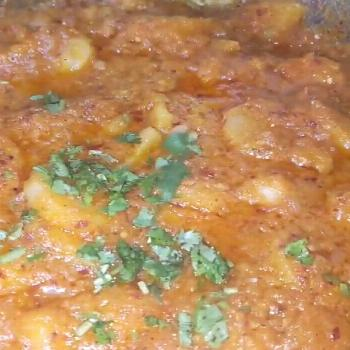 Alu ki Bhujia such a simple dish with so much flavor. Honestly on