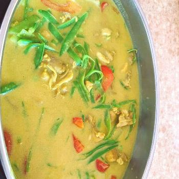 Amazing!!! Coconut Curry Chicken with Vegetables! Part of Keto Di