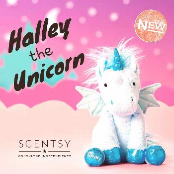 Big things happening in scentsy world meet Halley the unicorn and
