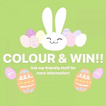 COMPETITION TIME Ask our friendly staff for more details on how t