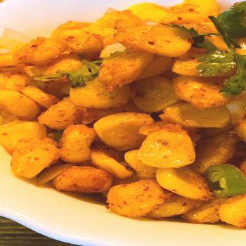 Crispy Corn Chaat is a great dinner appetizer, makes for a good t