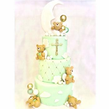 Cuteness overload on our Jcute cake designed for handsome little
