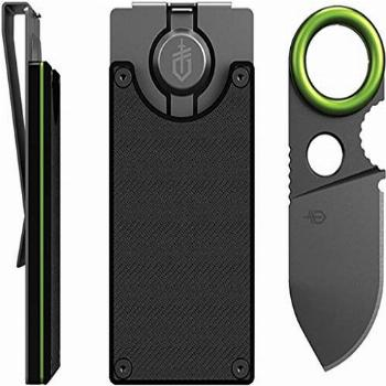 Gerber Gear 31-002521N GDC Money Clip with Built-in Fixed