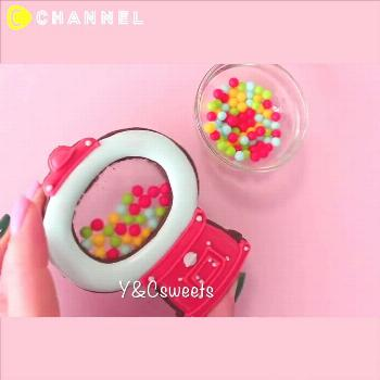 Gumball Machine Stained Glass cookies!  Follow for more! Turn