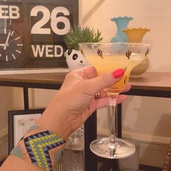 Happy hump day, Chris made us a marmalade martini after a rather