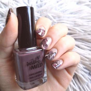 Hey! I really liked these nails! These were inspired by @ . I tri