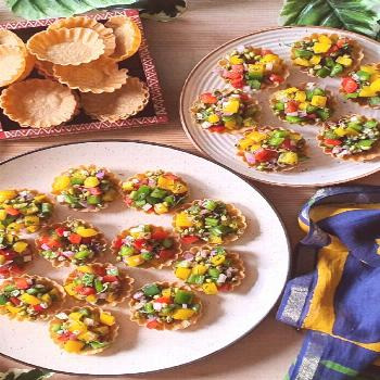 Holi party at your place? Make these colourful & delicious Canape