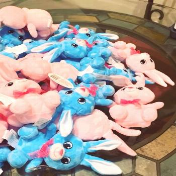 It's time to customize some more bunnies for Easter. This weekend