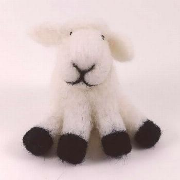 Karrie had a little lamb, its fleece was white as snow. This swee