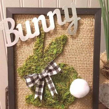 Looking for some great spring and Easter decor ideas? Kid crafts