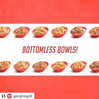 Mark your calendars! Bottomless bowls are making a comeback March