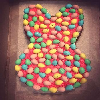 NEW PRODUCT ALERT Our Bunny Mini Egg Cookie Cake has arrived just