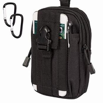 NIZJX Tactical Molle Pouch, Outdoor Hiking EDC Utility