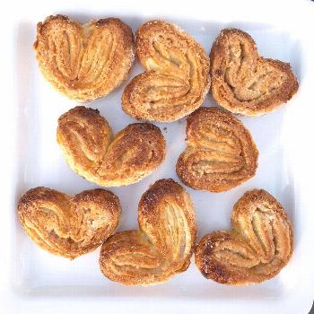 Palmiers - My daughter loves these French cookies and lucky for h