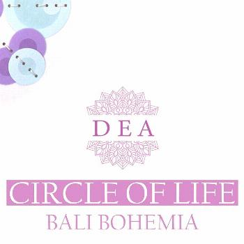 possible text that says 'DEA CIRCLE OF LIFE BA