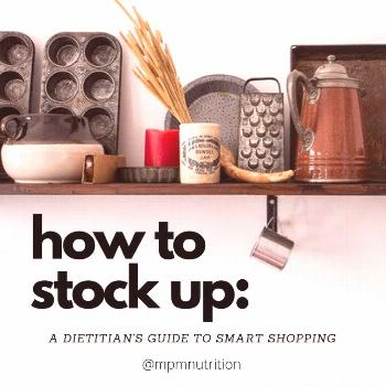 possible text that says 'how to stock up: A DI