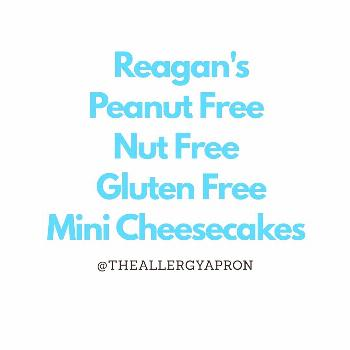 possible text that says 'Reagan's Peanut Free