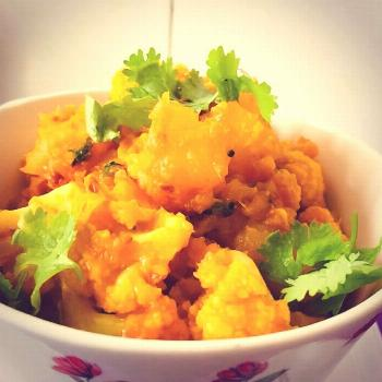 Quick and simple Aloo Gobi recipe is on its way...stay tuned for