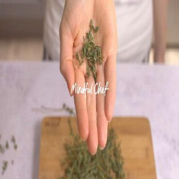 Rumour has it, one of our team spent 7 minutes hand-picking thyme