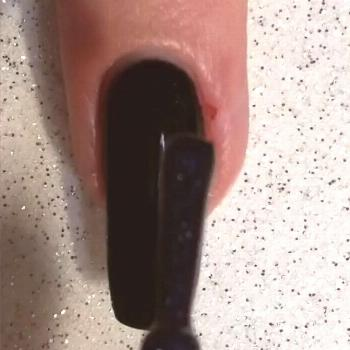 Tutorial for my Galaxy nails for glamnailschallengemarch Product