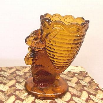 Vintage Fenton Amber Glass Egg Cup just listed in my etsy shop. L