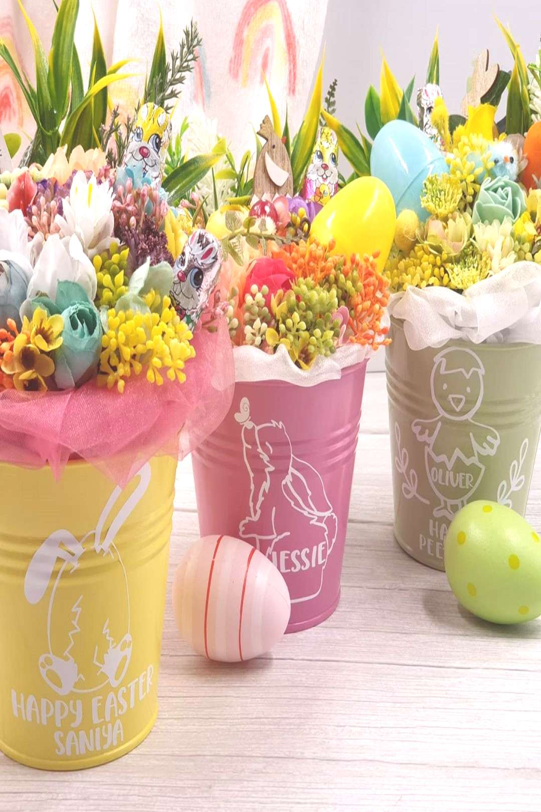 A little sneak at the Chocolate Easter Buckets that will be avail