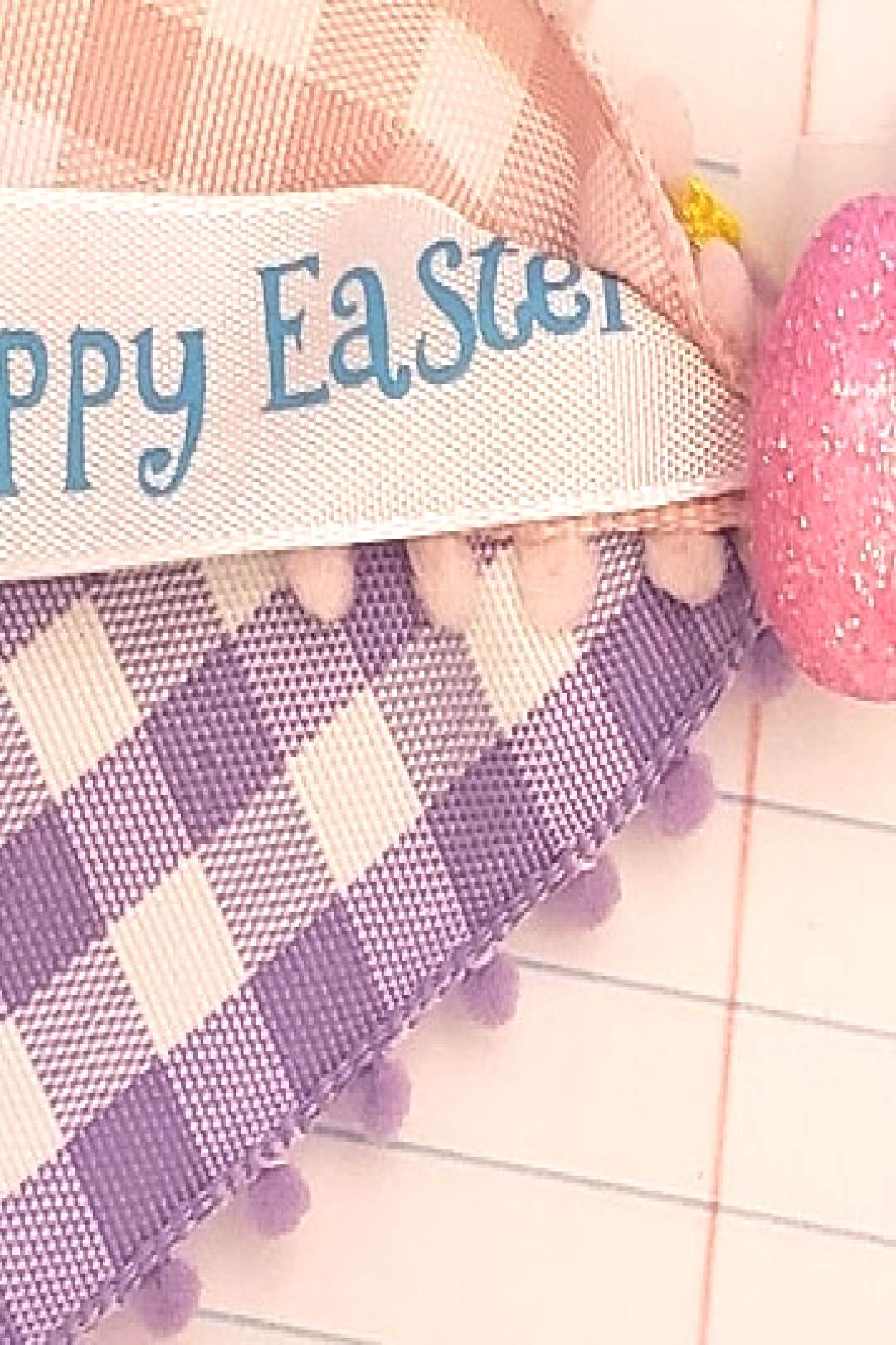 A little sneak peek at some Easter bows Im working. Taking order