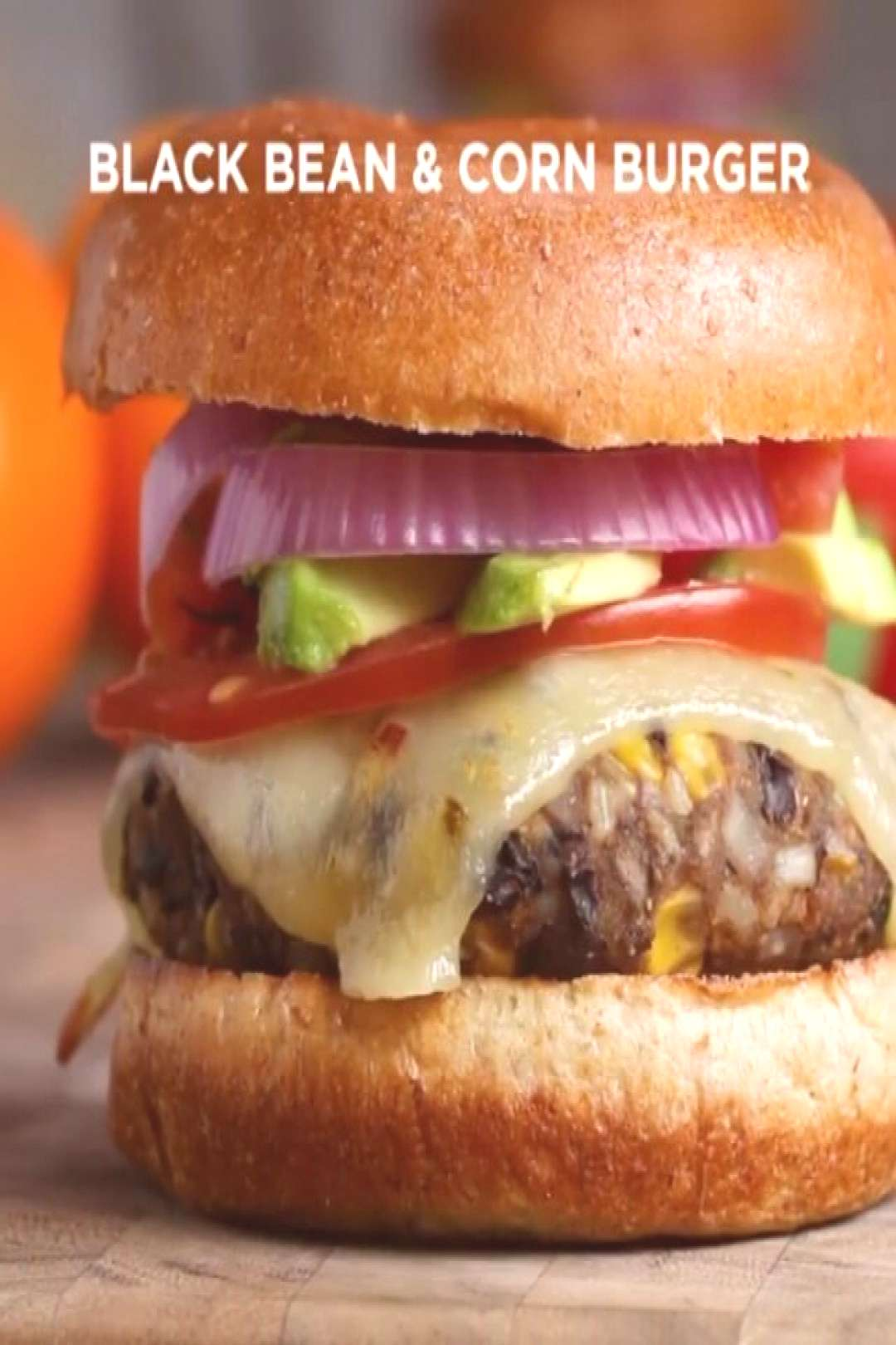 Black Bean amp Corn Burgers Full recipe below, send it to a friend