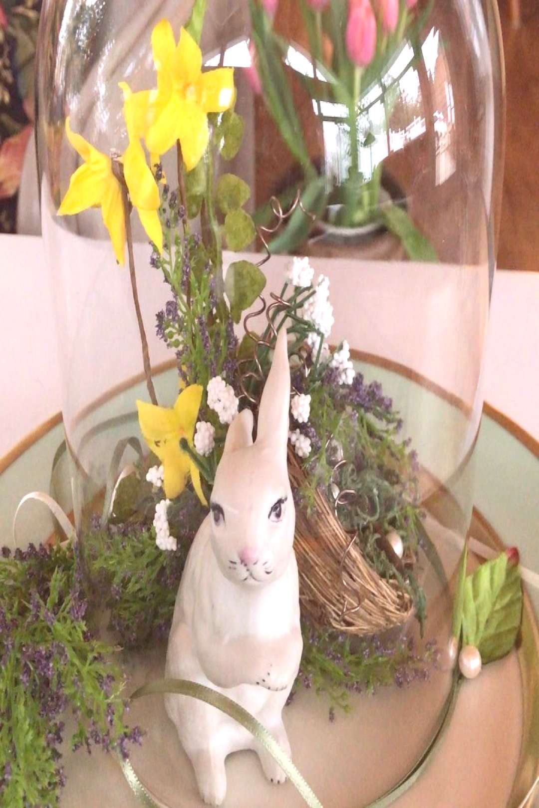 BUNNY FUN .... I spent some time in my hideaway workshop today pu