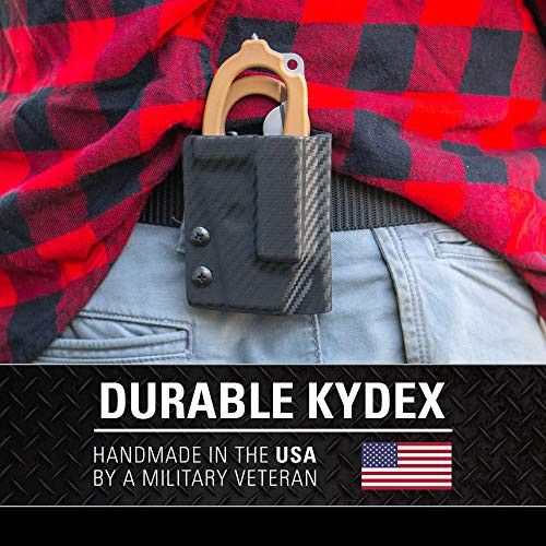 Clip amp Carry Kydex Multitool Sheath for LEATHERMAN RAPTOR