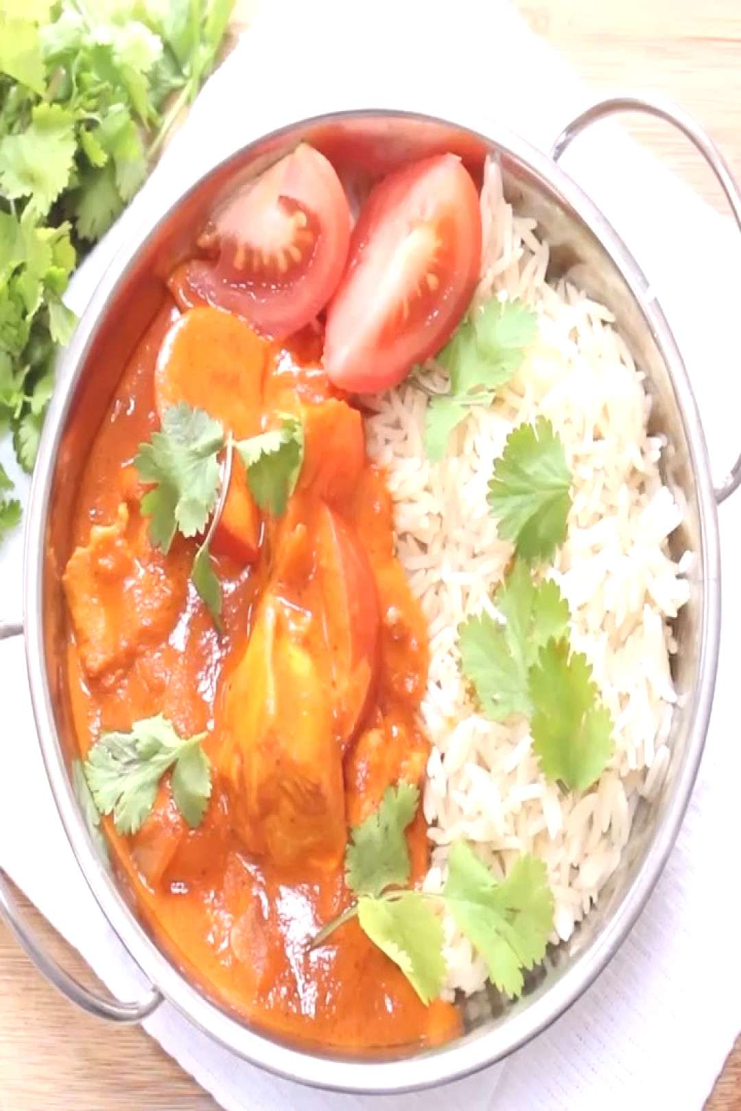 Coconut Chicken Curry A quick and easy cook-from-scratch curry re
