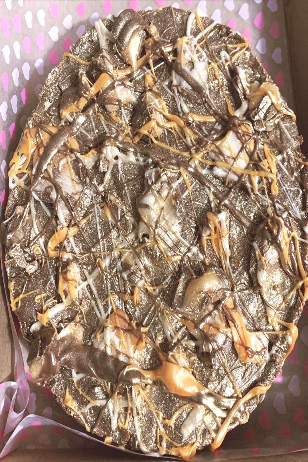 Creme egg rocky road, without marshmallows because who likes mars