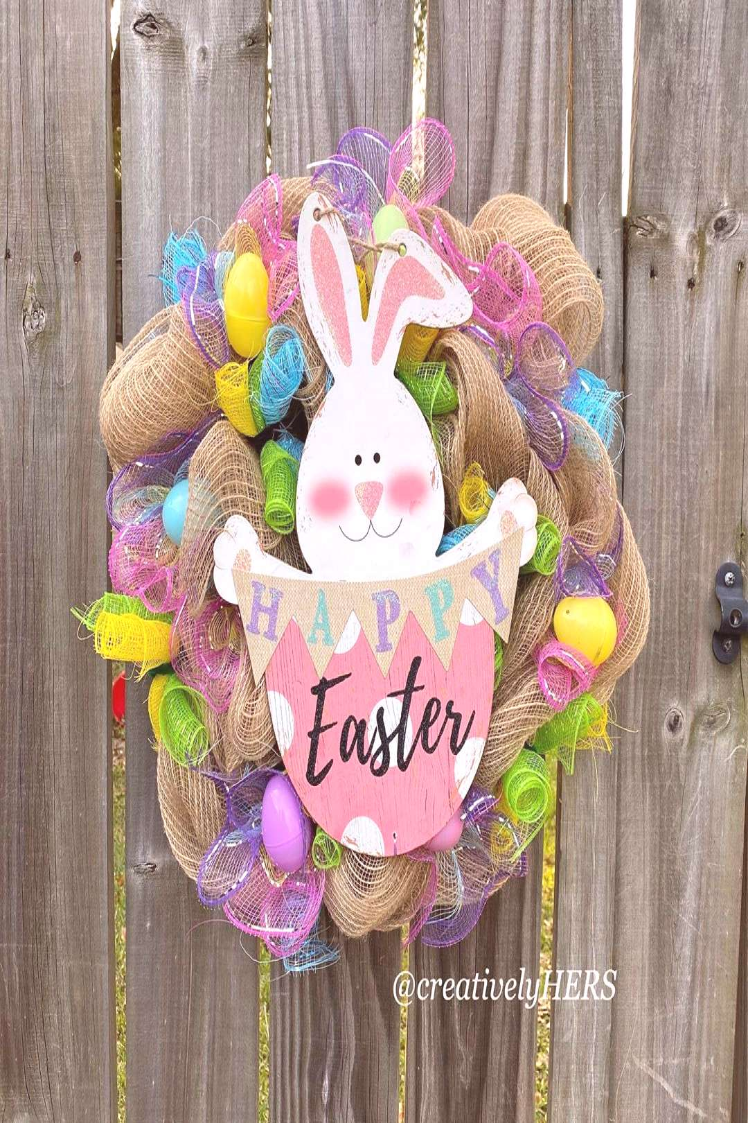 Easter Wreaths hooping in !! I couldnt resist! This simple but a