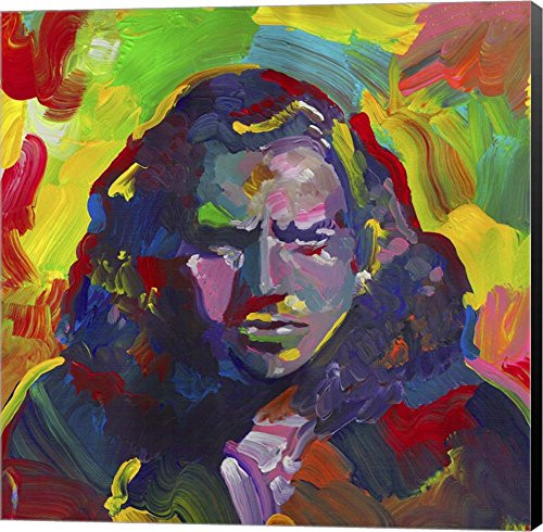 Eddie Vedder by Howie Green Canvas Art Wall Picture, Museum