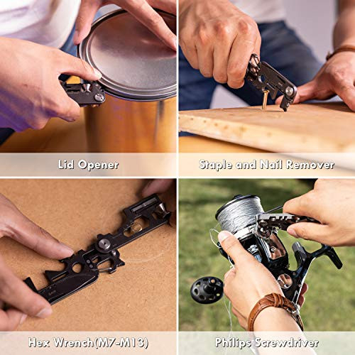 FLEXTAILGEAR Foldable Multi Tool Card Size with Knife Gadget