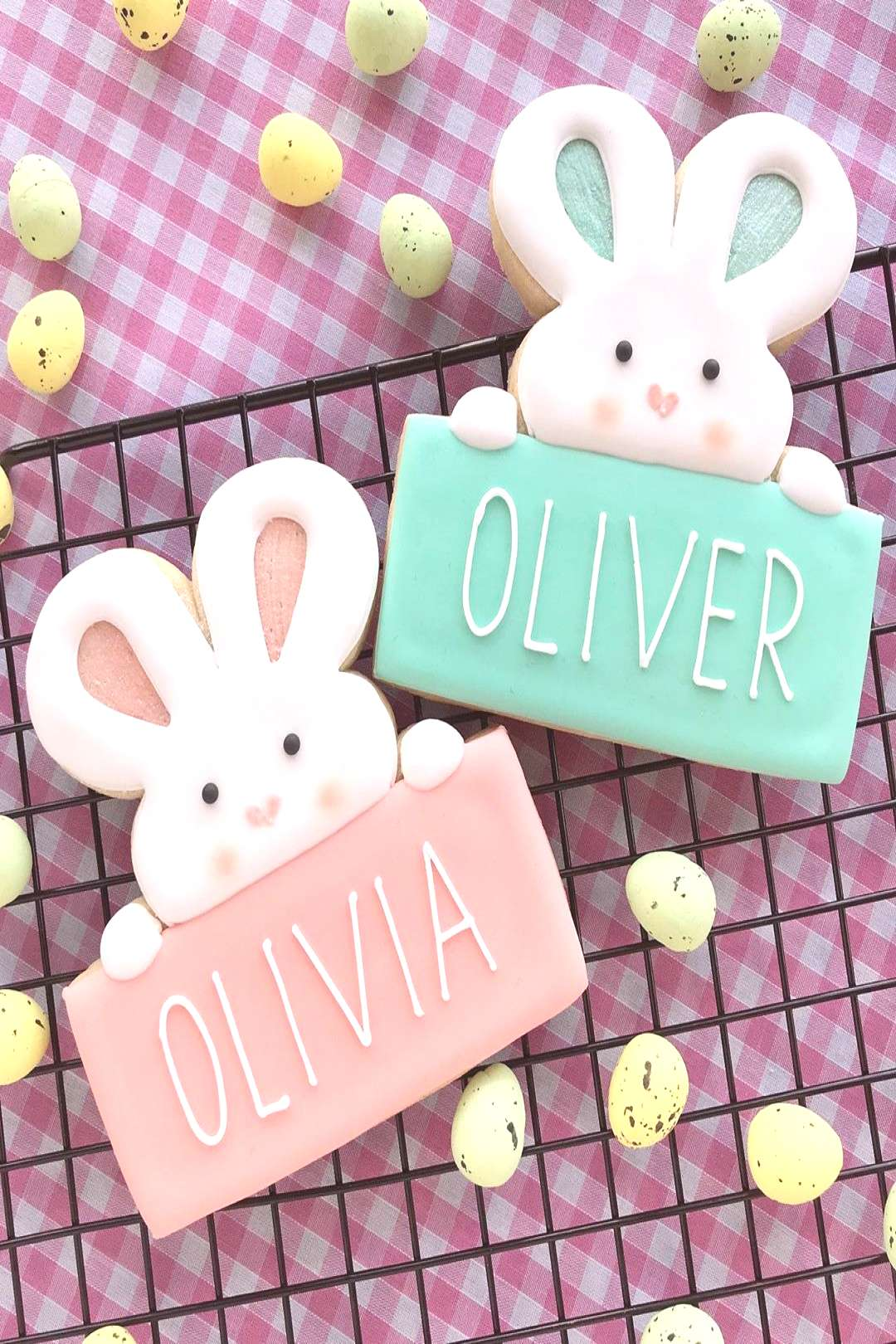 food possible text that says OLIVER OLIVIA