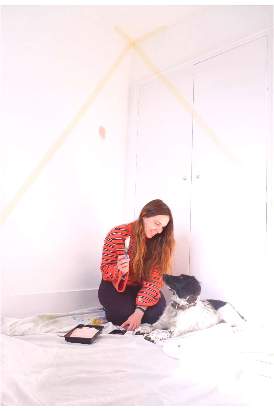 FROM DRAB TO FAB / Here's my Friday DIY! Earlier this week I deci
