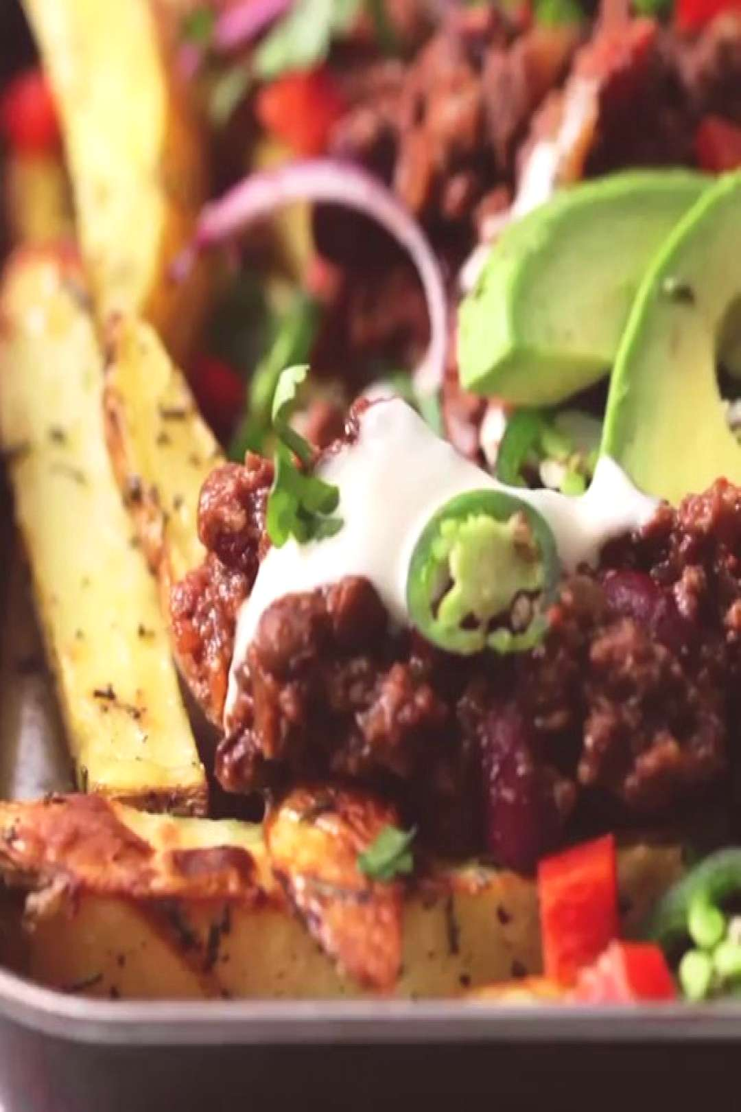 FULLY LOADED CHILLI FRIES By - OK, stop what youre doing! Now in