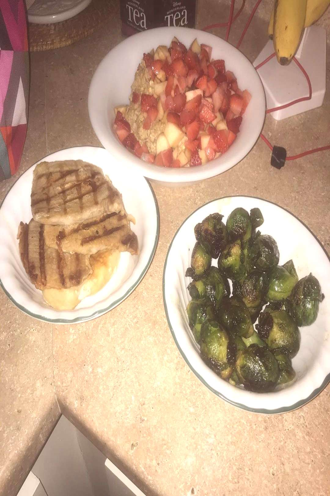 Getting good at meal prep. It helps with breakfast and lunches. I