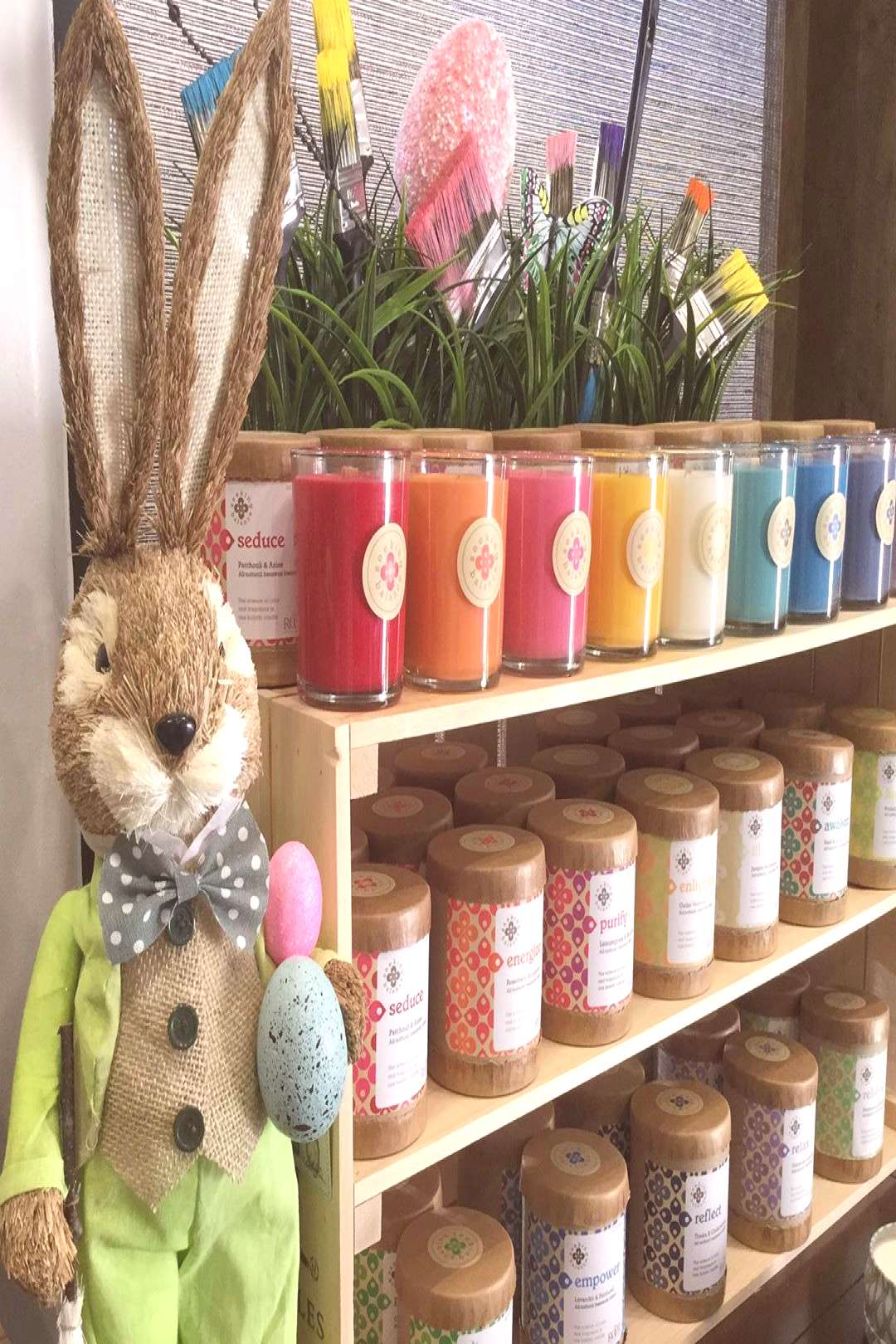 Getting ready for SpRiNg! #easterdecor #easterboutique