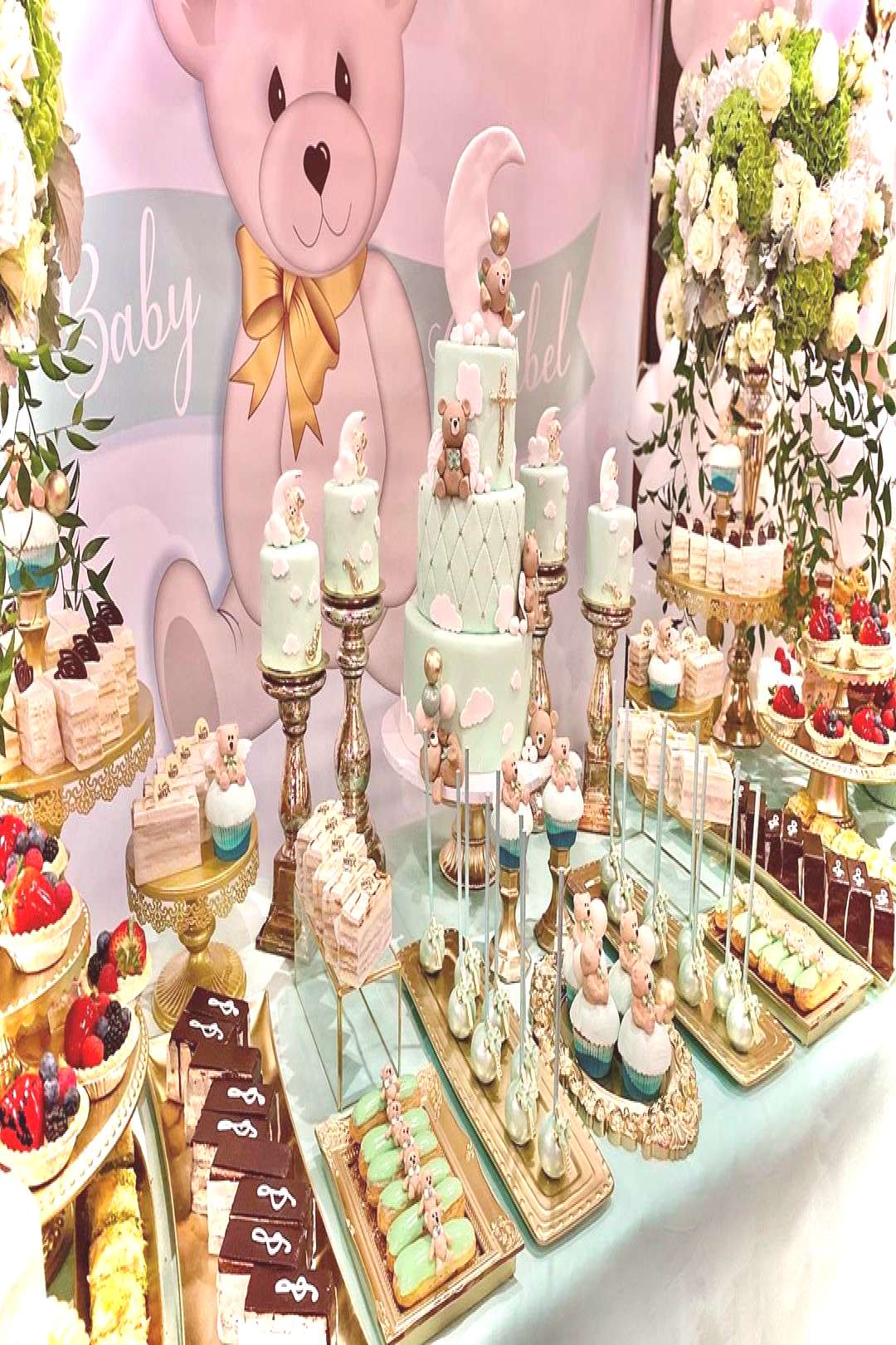 Gorgeous custom desserts/cake/mini cakes/set up/design for an ama