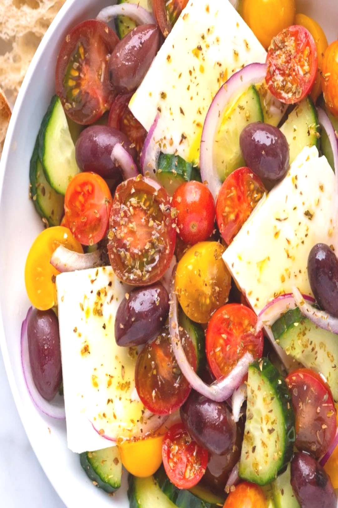 Greek salad is simple to make and filled with some of our all tim