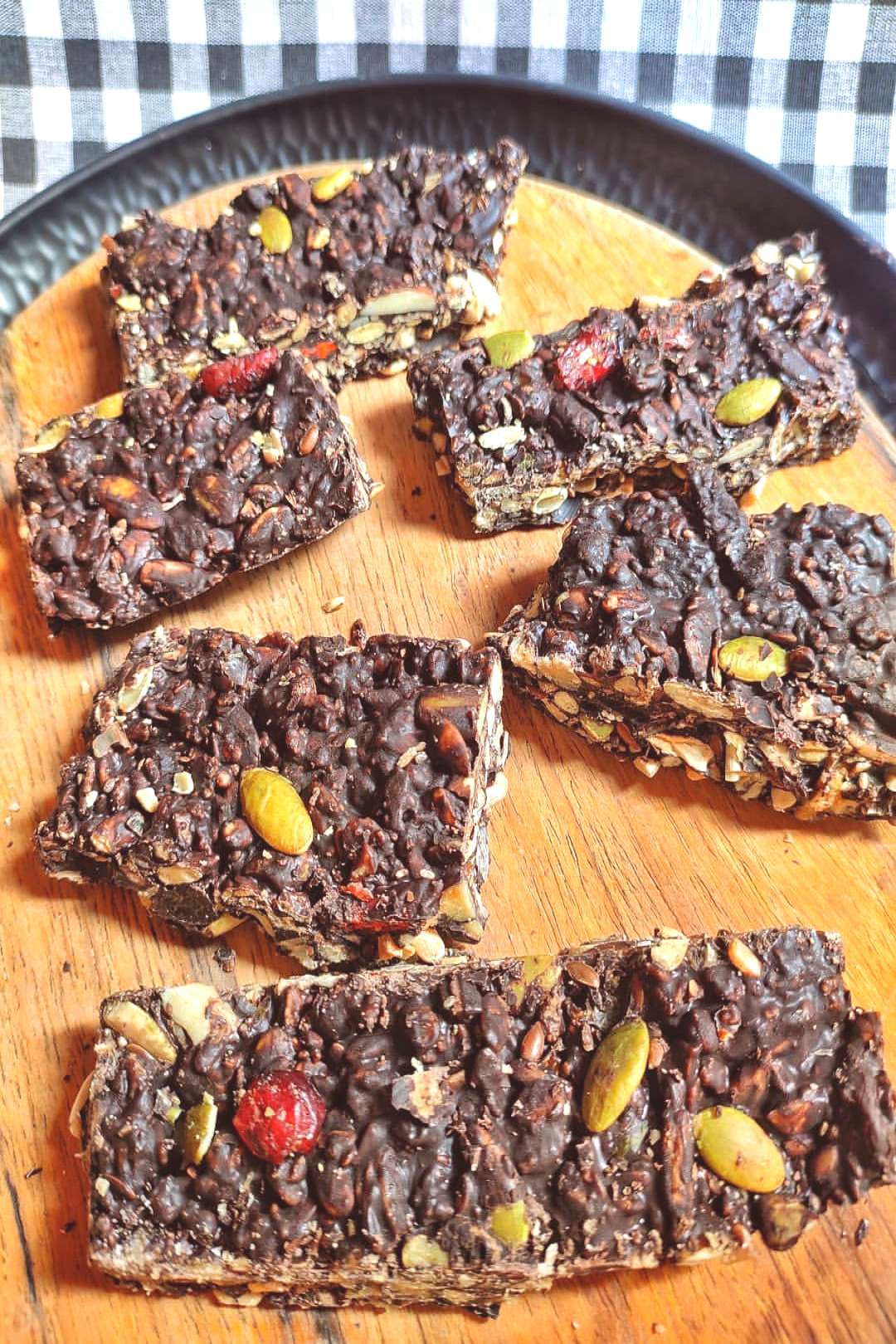 Hey guys! I just uploaded chocolate Granola Bar recipe on my YouT