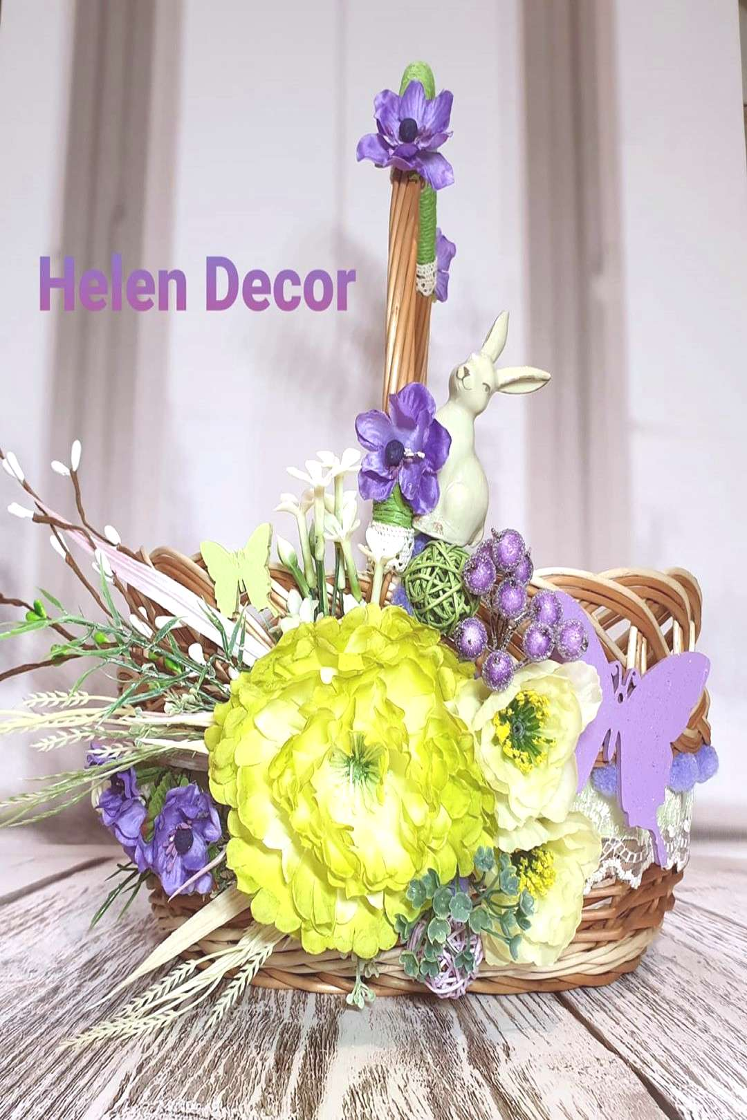 Image may contain: flower and plant, text that says 'Helen Decor'