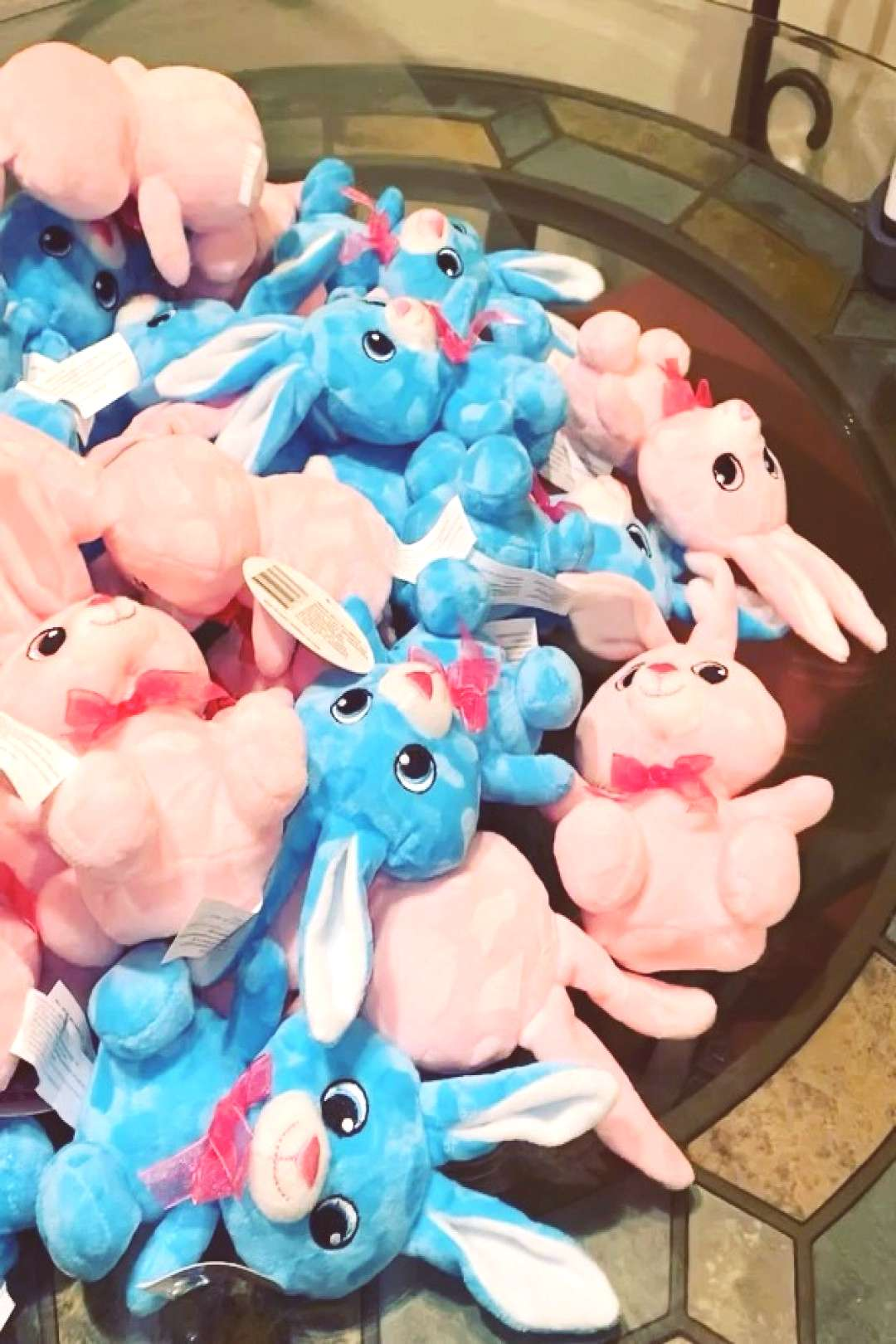 Its time to customize some more bunnies for Easter. This weekend